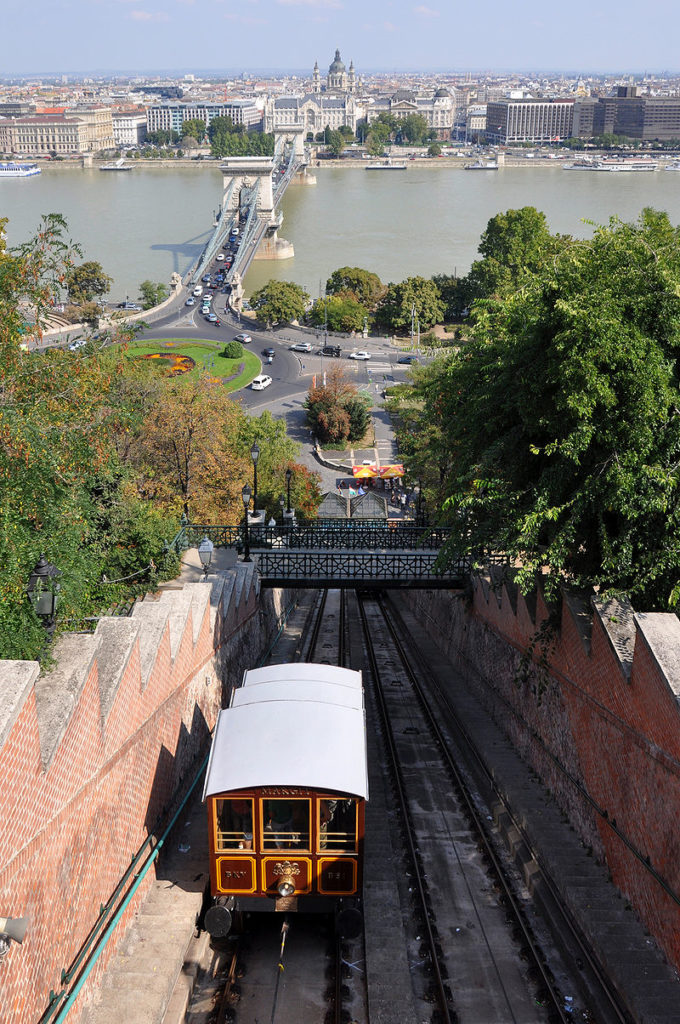Funny Funicular of Budapest