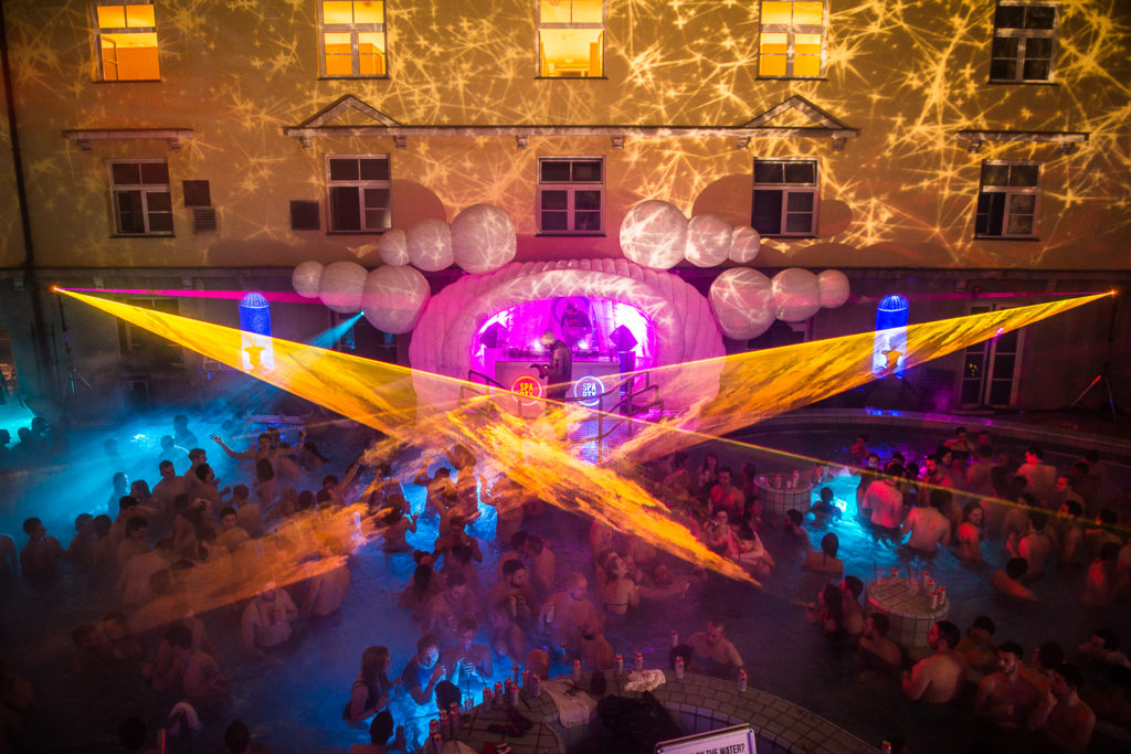 Sparty on! Budapest's famous thermal bath parties