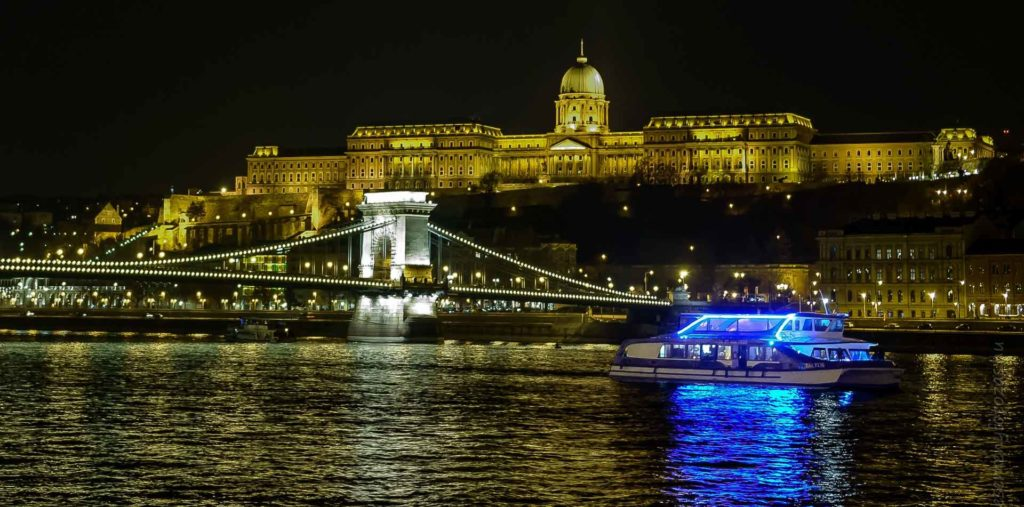 Cruising on the blue Danube