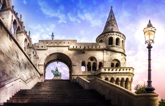 Fishermen's Bastion, the most popular lookout of Budapest