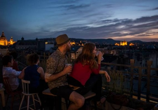 Rooftop Bars in Budapest