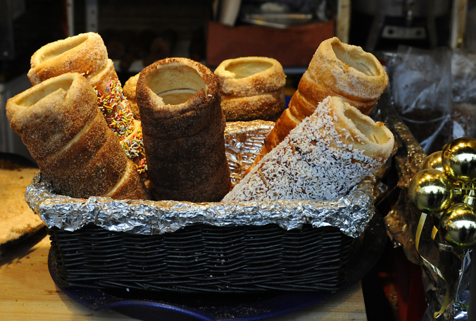 The Hungarian Chimney cake