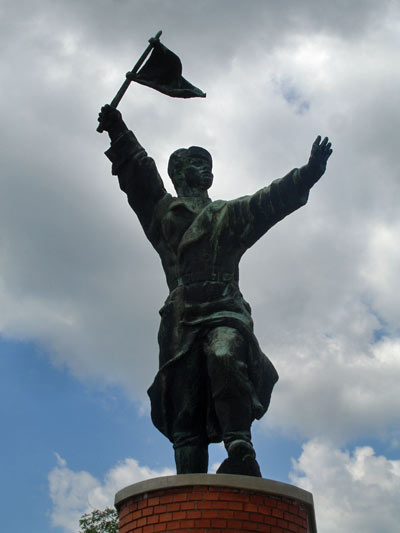 Captain Ostapenko in Budapest's Memento Park and the story behind