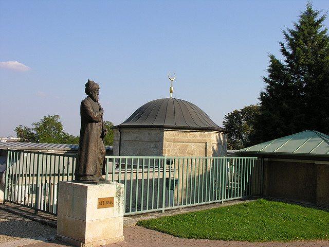 Gül Baba's tomb in Budapest