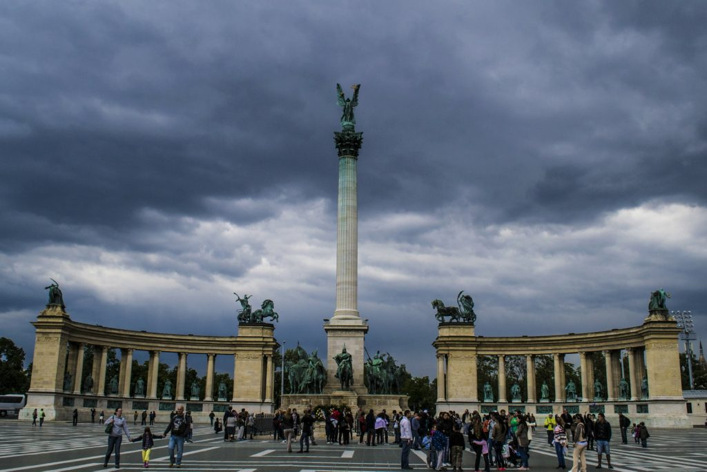 Heroes' Square Budapest